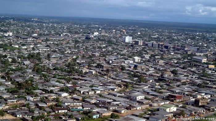 Douala, Cameroon's commercial city