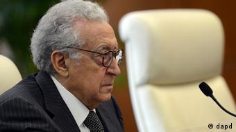 Syria Lakhdar Brahimi (photo:Takuro Yabe, Pool/AP/dapd)