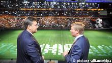 Ukraine Rinat Achmetow und Viktor Janukowitsch