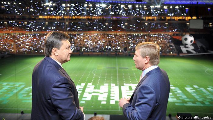 Давні партнери - Віктор Янукович і Ринат Ахметов