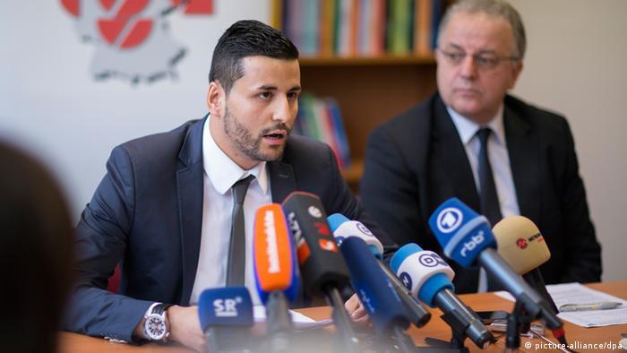 Ibrahim Arslan Kenan Kolat Pressekonferenz Migrantenvertreter