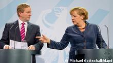 Deutschland Irland Angela Merkel Ministerpräsident Enda Kenny