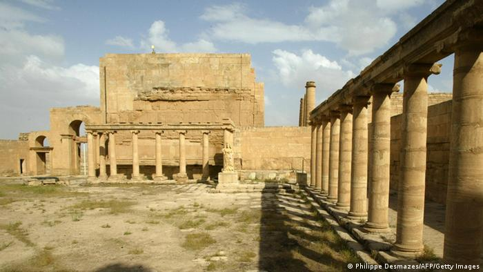 Hatra ruins in Iraq, Copyright: Philippe Desmazes/AFP/Getty Images