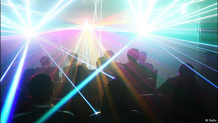Lasershow (Foto: Mehr).
