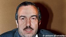 PLO Stellvertreter Abu Dschihad Archivbild 1984
