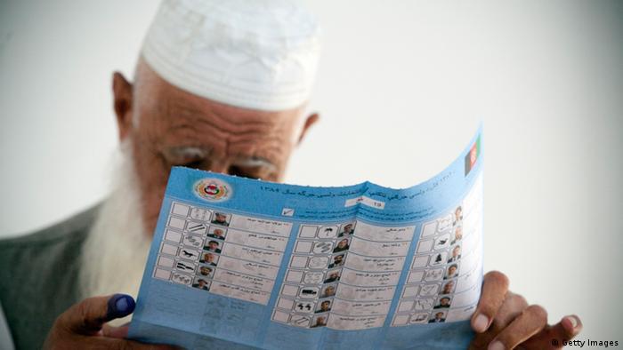 Mazar-i-Sharif Wahlen Afghanistan