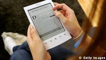 Deutschland Frankfurt am Main E-Reader