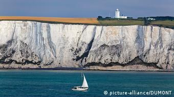 A sailboat in Dover