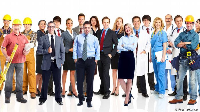 Group of business people. Business team. Isolated over white background Kurhan - Fotolia