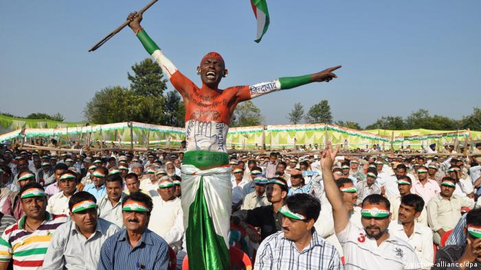 Wahlkampf in Himachal Pradesh in Indien (picture-alliance/dpa)
