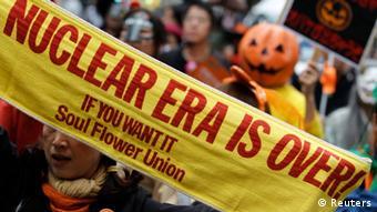 Symbolbild Japan Atomkraft Protest Demonstration