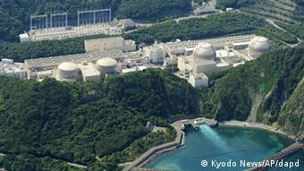 This aerial photo shows Kansai Electric Power Co.'s unit buildings, from left, No. 1, No. 2, No. 3, and No. 4 of the Ohi nuclear power plant in Ohi, Fukui prefecture, western Japan, Friday, Nov. 2, 2012. (Photo:Kyodo News/AP/dapd)