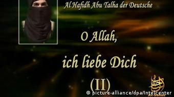 Screenshot eines Internetvideos von Dschihadisten (Foto: dpa)