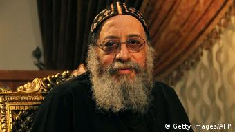 Coptic Pope Tawadros II of Alexandria (c) STR/AFP/Getty Images)