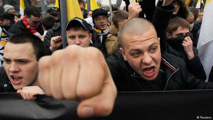 Русский марш в Москве (4.11.2012)