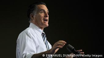 Mitt Romney (photo:EMMANUEL DUNAND/AFP/Getty Images)