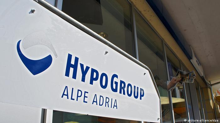 Filiale der Hypo Group Alpe Adria in Kärnten (Foto: Jan-Peter Kaspernull)