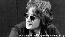 John Lennon undatiertes Porträt