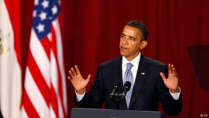 Barack Obama Rede in Kairo (AP)