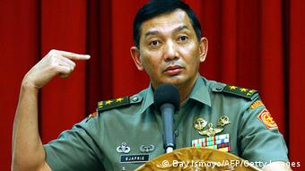 Military spokesman Major General Sjafrie Syamsuddin (Photo: BAY ISMOYO/AFP/Getty Images)