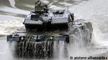 Deutschland Bundeswehr Kampfpanzer Leopard-2A6