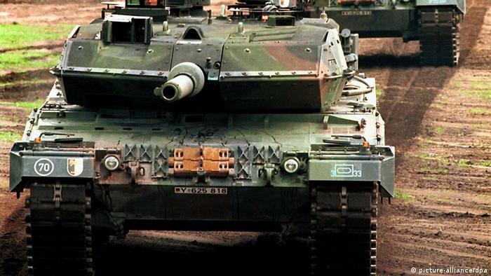 Немецкий танк Leopard 2 A5