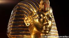 Totenmaske des Tutanchamun Ausstellung