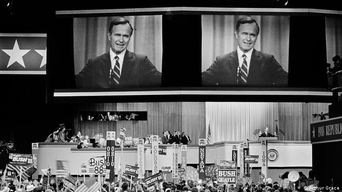 George H. W. Bush at the 1988 Republican convention