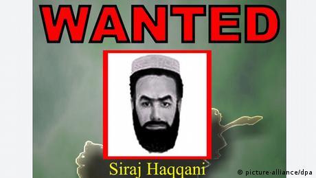 Sirajuddin Haqqani Anführer des Haqqani Terrornetzwerkes in Pakistan (picture-alliance/dpa)