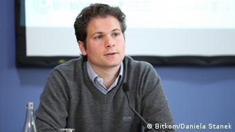 Sebastian Schulze, Gründer und Geschäftsführer des IT-Unternehmens UPcload. (Quelle: Bitkom