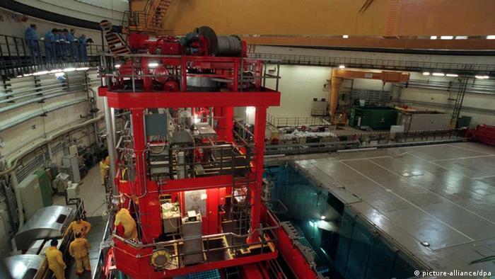 Reactor room in Gundremmingen nuclear plant