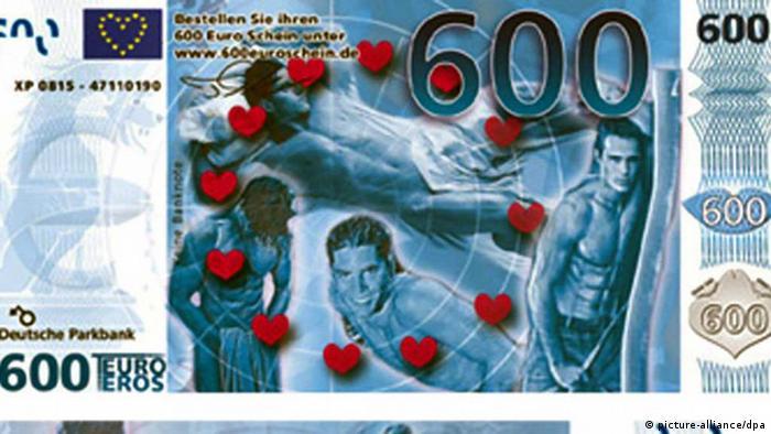 Gefälschter 600 Euro-Schein