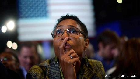 USA Wahl Wahltag 2012 Anhänger der Demokraten (picture-alliance/dpa)