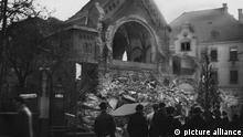 Reichskristallnacht in Chemnitz