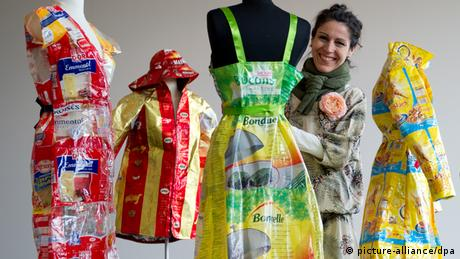 Recycling-Designerin Katell Gelebart (picture-alliance/dpa)