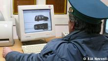 Ukraine Russland Grenze bei Shepetivka Zoll
