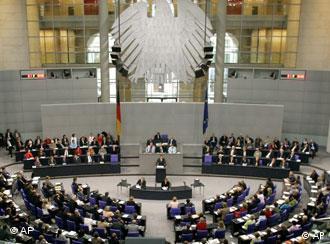 Deutscher Bundestag (Foto: AP)
