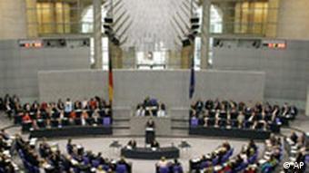 Vertrauensfrage Bundestag Bundeskanzler