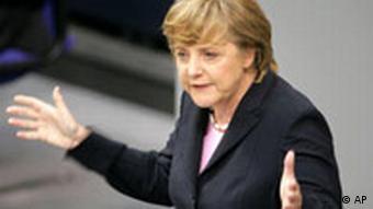 Vertrauensfrage Bundestag Angela Merkel