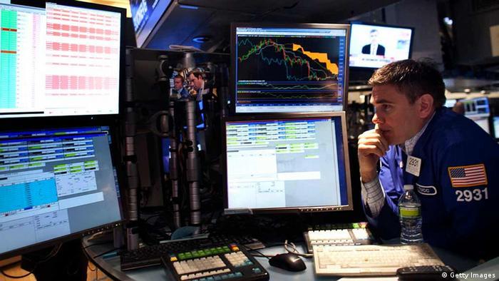 stock market dealer (Photo by Allison Joyce/Getty Images)