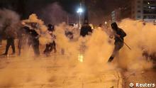 Griechenland Finanzkrise Ausschreitung Protest in Athen