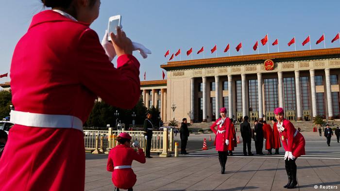 Parteitag China Kommunistische Partei (Reuters)