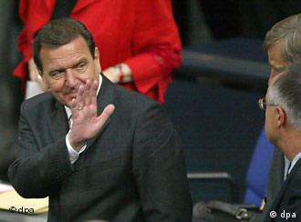 Will it be bye-bye Schröder?