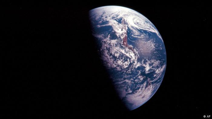 Die Erde Aufnahme aus dem Weltraum (AP)