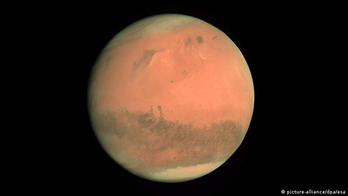 Mars seen from space