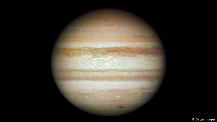 In this image provided by NASA, ESA, and the Hubble SM4 ERO Team, the planet Jupiter is pictured July 23, 2009 in Space.. (Photo by NASA, ESA, and the Hubble SM4 ERO Team via Getty Images)