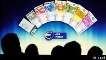 Deutschland EU Euro neue Banknoten werden vorgestellt