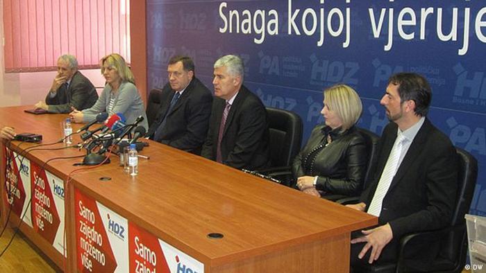 Treffen Milorad Dodik und Dragan Covic
