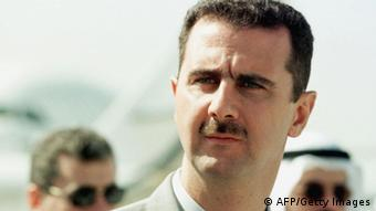 GettyImages 51398269 DUBAI, UNITED ARAB EMIRATES: Syrian Colonel Bashar al-Assad attends the opening of the Dubai air show, 14 November 1999. Assad, 34, is being groomed to take over from his 69-year-old father, President Hafez al-Assad, analysts say. (Photo credit should read RABIH MOGHRABI/AFP/Getty Images)
