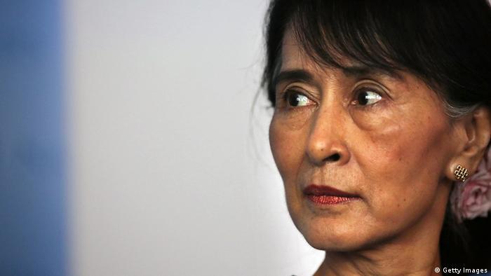 Aung San Suu Kyi UN New York Archivbild (Getty Images)